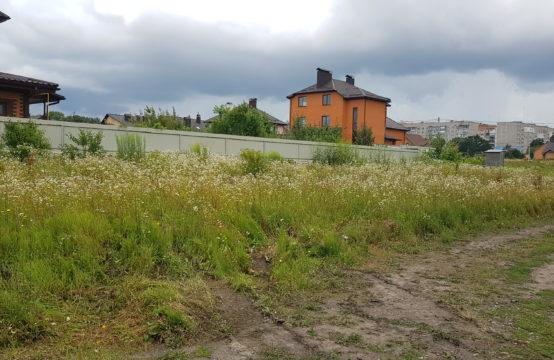 Земельный участок 9 с. р-н Тяжилов возле костела левая сторона