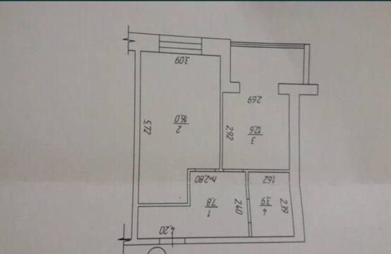 Однокомнатная квартира в ЖК «Триумф»