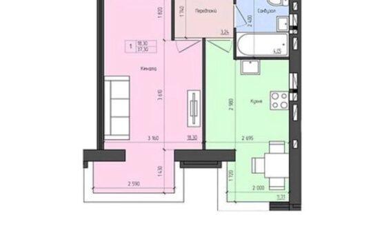 Продам однокомнатную квартиру, Агрономичный р-н